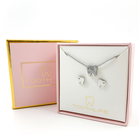 Twinkle Tooth Silver Set