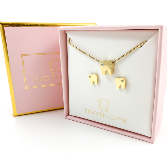 Twinkle Tooth Gold Set