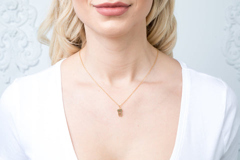 Classic Small Gold Tooth Necklace - Toothlife