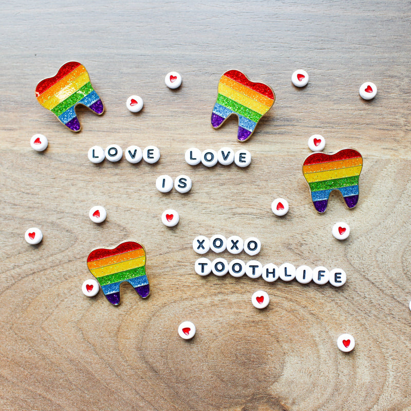 Pride Tooth Pin