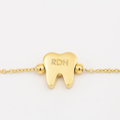 I AM....RDH Bracelet Gold - Toothlife