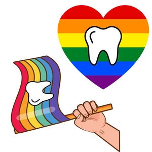 Tooth Pride Duo Stickers!