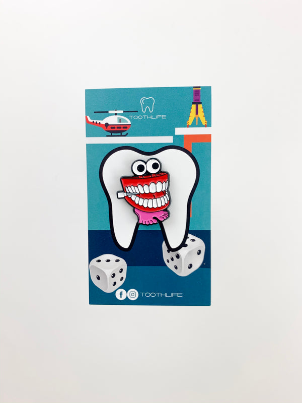 Chatter Tooth Pin