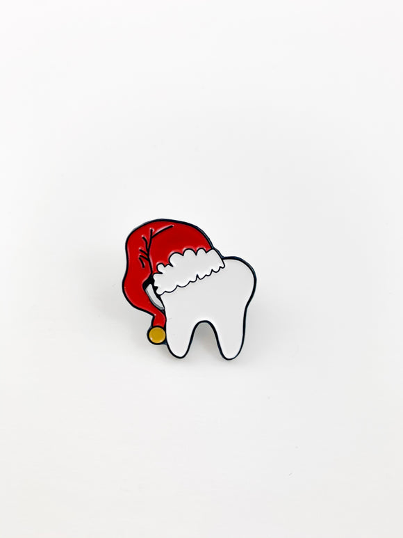 Santa Tooth Pin