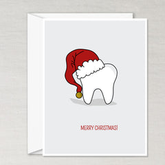 Santa Tooth Card