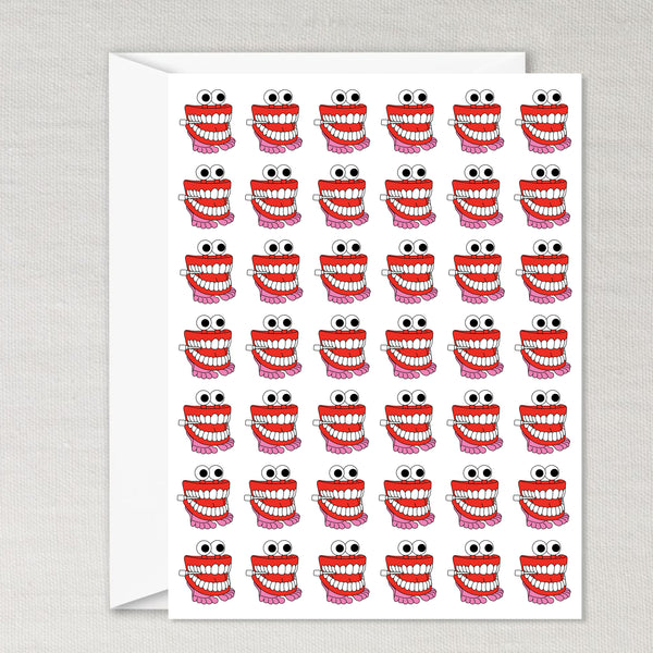 Chatter Tooth Card