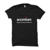 Image of Accenture Half Sleeve-Black