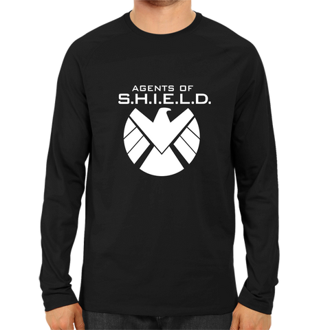 Agents Of Shield Full Sleeve Black