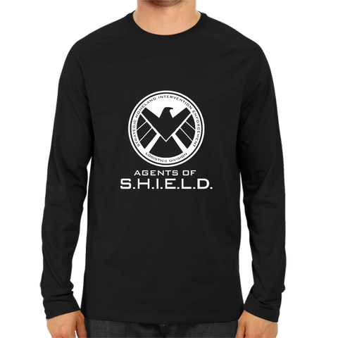 Agents Of Shield 2 Full Sleeve Black