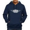 Image of All About Enfield - Navy Blue Hoodie