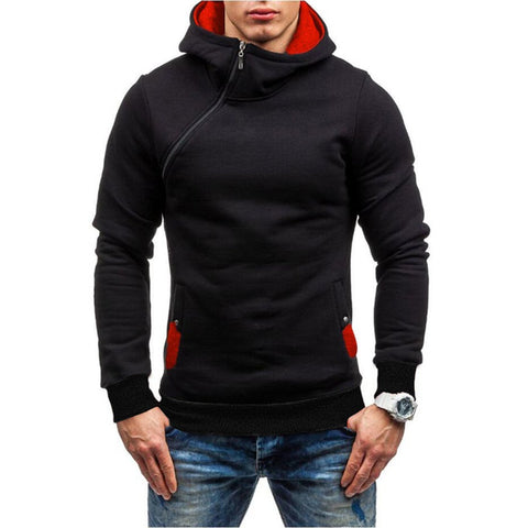 Assassin's Creed New Hip Hop Zipper Black Hoodie
