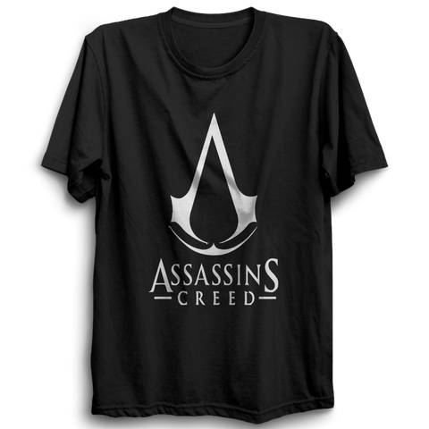 Assassin's Creed Logo Half Sleeve Black