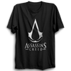 Image of Assassin's Creed Logo Half Sleeve Black