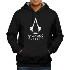 Assassin's Creed Logo Hoodie Black