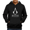 Image of Assassin's Creed Logo Hoodie Black