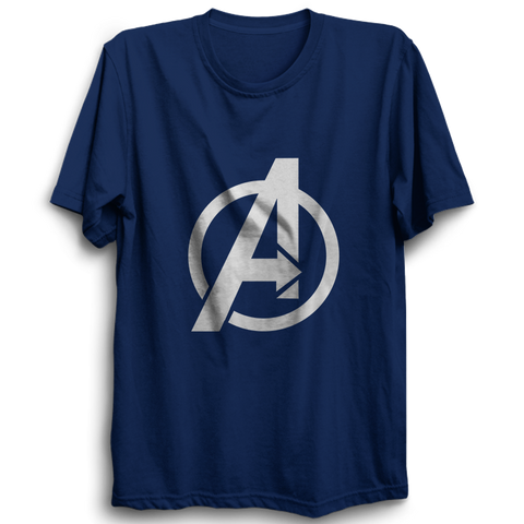 Avenger Half Sleeve Navy Blue