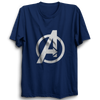 Image of Avenger Half Sleeve Navy Blue