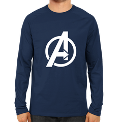 Avenger Full Sleeve Navy Blue