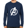 Image of Avenger Full Sleeve Navy Blue