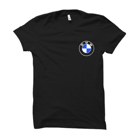 BMW Logo Half Sleeve- Black