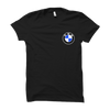 Image of BMW Logo Half Sleeve- Black