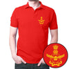 Image of Bhartiya Vayu Sena Polo T-Shirt Red