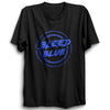 Image of CRIC 54- Bleed Blue 2-Half Sleeve-Black