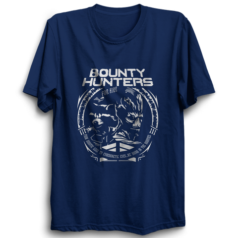 Bounty Hunters Half Sleeve Navy Blue