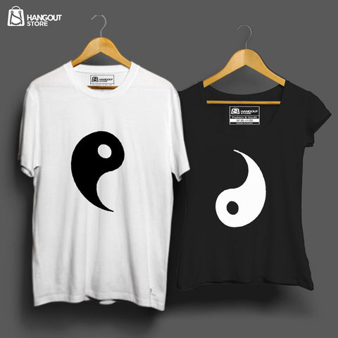 Couple Sign - Half Sleeves White/Black