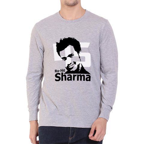 CRIC 21- Rohit Sharma Full Sleeve-Grey