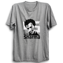 CRIC 21- Rohit Sharma -Half Sleeve-Grey