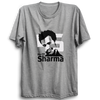 Image of CRIC 21- Rohit Sharma -Half Sleeve-Grey