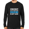 Image of CRIC 41 - Cricket Is My Religion Dhoni-Full Sleeve-Black