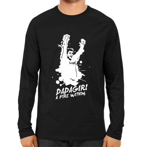 CRIC 06- Dadagiri A Fire-Full Sleeve-Black