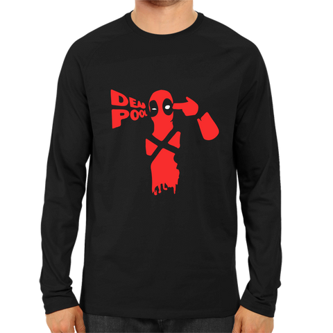 Deadpool 2 Full Sleeve Black