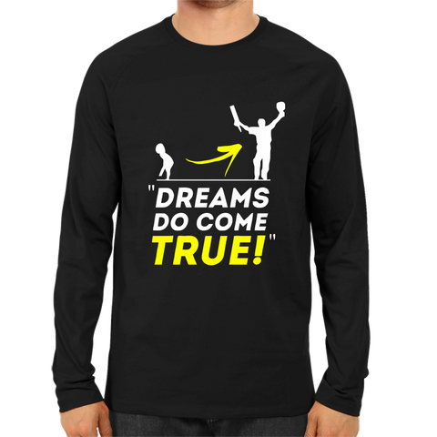 CRIC 12- Dreams Do Come True Full Sleeve Black