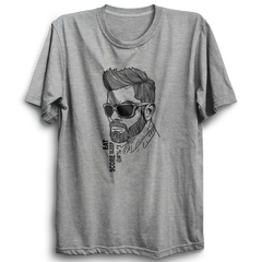 CRIC 13 -Eat Score Sleep Kohli-Half Sleeve-Grey