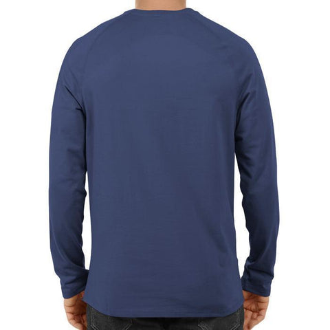 CRIC 50 - I Bleed Blue Do You? Shikhar -Full Sleeve Navy Blue