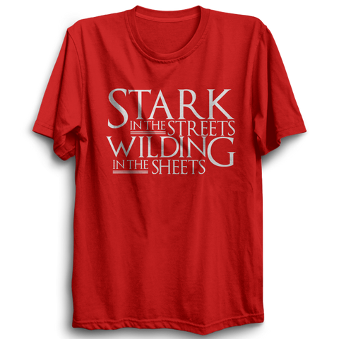 GOT-35 Stark In The Streets Half Sleeve Red