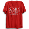 Image of GOT-35 Stark In The Streets Half Sleeve Red