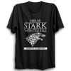Image of GOT-46 House Stark Winterfell Half Sleeve Black