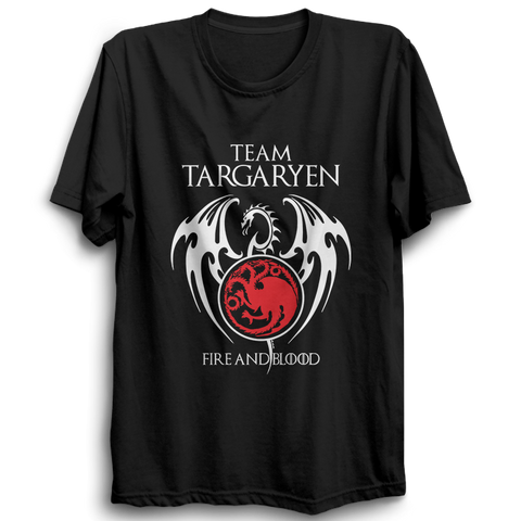 GOT-47 Team Targaryen Half Sleeve Black