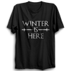 Image of GOT-53 Winter Is Here Half Sleeve Black
