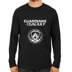 Guardians Of The Galaxy Full Sleeve Black