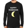 Image of Happy Ramadan Full Sleeve-Black