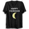 Image of Happy Ramadan Half Sleeve Black