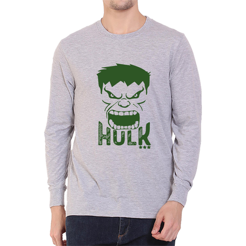 Hulk Full Sleeve Grey