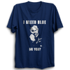 Image of CRIC 50 - I Bleed Blue Do You? Shikhar -Half Sleeve Navy Blue