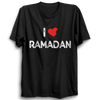 Image of I Love Ramadan Half Sleeve Black