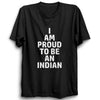 Image of I am proud to be an Indian Half Sleeve Black